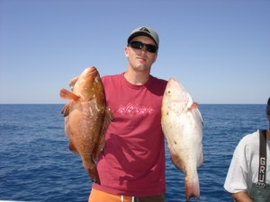 Nate's big grouper offshore of Topsail Beach