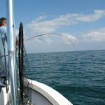 Fly fishing in Topsail Beach, NC