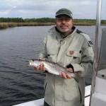 Speckled Trout Fishing inshore Topsail Beach, NC